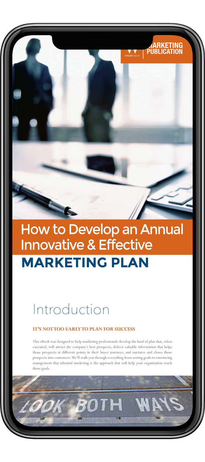 How to develop an annual marketing plan ebook